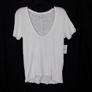 We The Free People Burnout T-Shirt Short Sleeves